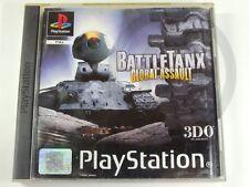 !!! PLAYSTATION PS1 SPIEL Battletanx Global Assault, gebraucht aber GUT !!!