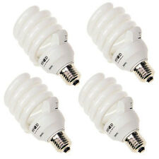 4x Tageslichtlampe Energiesparlampe Fotolampe 5500 K 32 W Ersatz-Leuchtmittel