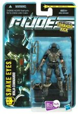 GI Joe Pursuit of Cobra Wave 2 Cobra Ninja Commado Snake Eyes with Tornado Kick!