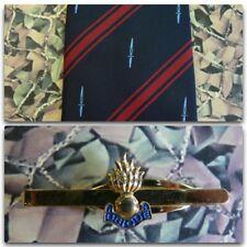 59 Commando Royal Engineers (Crest) Tie Set With RE GRENADE Tie Bar