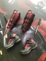 "Hot toys MMS490 Deadpool Xmen Marvel Deadpool 2 12"" 1/6 Boots"