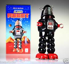 Ms430 Tin Robot Planeta Robot Negro vintage reproducción Nuevo windup juguetes nostálgica