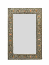 Moroccan Contemporary Mirror+Bone WAS £275 Now ONLY £135 - 70x100cm - Free PP