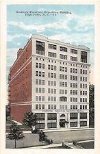 B13/ High Point North Carolina NC Postcard c'20 Southern Furniture Expo Building