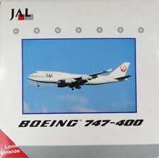 Boeing 747-400 JAL Japan Airlines JA8075 Gemini Jets GJAL007B 1:400 in OVP [M9]