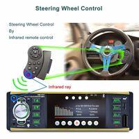 """4.1"""" 1 DIN Bluetooth Auto Car In Dash Stereo MP5 Radio Player 12V Remote Control"""