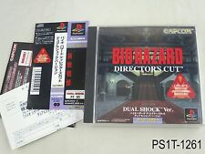 Biohazard Director's Cut Dualshock Ver Playstation 1 JP Import Resident Evil B