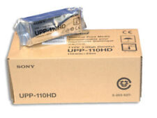 Sony UPP-110HD Thermal Print Media (10 Rolls) High Density Paper 110mm x 18m