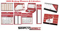 2020 Desktop Calendars & Wall Planner