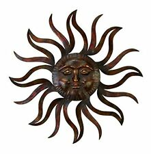 New! Wall Decor Home Sun Wire Art Outdoor Yard Garden Metal Sun Patio Decoration