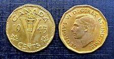 Canada 1943 Tombac Five Cents Victory Nickel BU Uncirculated!!