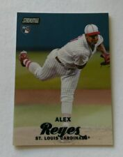2017 TOPPS STADIUM CLUB CHROME # SCC-67 ALEX REYES ST LOUIS CARDINALS