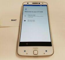 Motorola Moto Z Droid XT1650-02 - 32GB - White/Gold (Verizon) (8647)