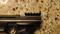 Crosman 2240, 1377, 1322 Compatible Red Dot Mount and Peep Sight