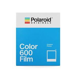 Polaroid Color Film für 600 Sofortbild Kamera - NEU -
