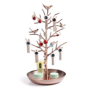 Schmuckbaum aus Eisen und Aluminium - Schmuckständer für Ketten Ohrringe Ringe