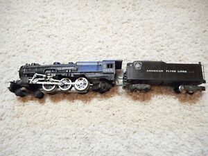 S SCALE AMERICAN FLYER #313 4-6-2 PACIFIC STEAMER WITH BIG MOTOR