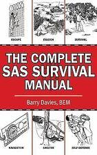 Survival Book Complete SAS Guide Escape Evasion Navigation Shelter Self-Defense