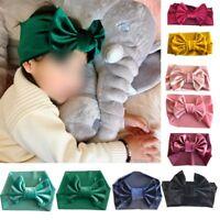 Kid Girl Baby Toddler Bow Headband Hair Band Accessory Headwear Head Wrap Gift