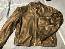 Vintage Schott 141 Leather Cafe Motorcycle Jacket