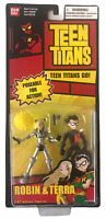 Teen Titans Slade Terra and Robin Action Figure Set NEW SEALED Bandai 2004 Go!