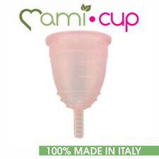 MAMICUP COPPETTA MESTRUALE ROSA 100% SILICONE MEDICALE MADE IN ITALY TAGLIA L