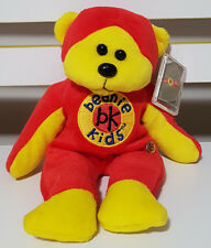 BEANIE KIDS BEANIE MASTER 10 YEAR BEAR PLUSH TOY! TEDDY BEAR SOFT TOY! GOLD TAG!