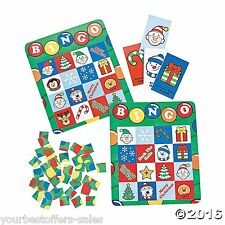 Christmas Bingo Christmas Games Family Games Party Games For Kids Cards Game New