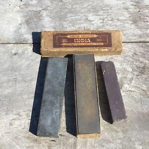 Sharpening Water Razor Hone Stones X 3