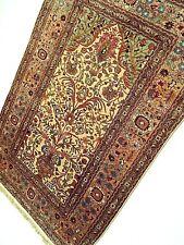 Super Fine Genuine All Silk Turkish Prayer Rug With Gold Thread