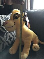 Disney's The Lion King Jumbo Simba Cub Plush Toy Large Size 21""