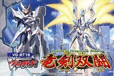 ya07519 VG-BT16 Legion of Dragons & Blades 16th Booster BOX CARDFIGHT Vanguard
