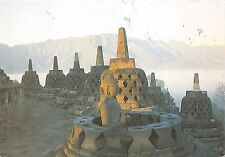 BF1559 sunrise at borobudur budhist temple java  Indonesia