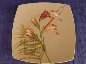 222 Fifth Antiqua DINNER PLATE *have more items* Hummingbird - DISCOUNTED
