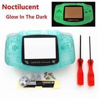 Night Light Noctilucent Pokemen Celebi Housing Shell for Game boy Advance -Green