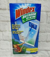 WINDEX ALL-IN-ONE Outdoor Window Glass Cleaning Tool Kit Sealed
