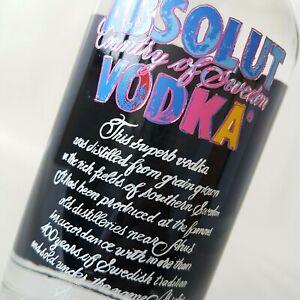Absolut Vodka - WARHOL / 700ml  40% Vol. / NEU & OVP / Andy Warhol Edition