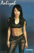 Aaliyah Poster 1979 - 2001 Rare Hot New 24X36