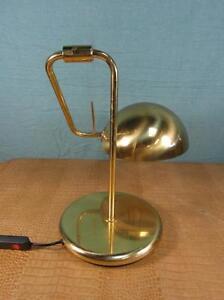 Tischlampe Antik Stil Messing Gelenk Arbeitslampe Design Lampe Leuchte  o14b4