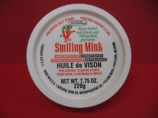 Smiling Mink Oil Paste Leather Waterproof & Conditioner 7.75 oz.  Boots - Shoes