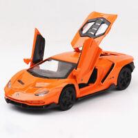 Lamborghini Centenario LP770-4 1:32 Scale Model Car Diecast Toy Vehicle Orange