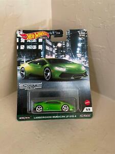 2021 Hot Wheels Car Culture Exotic Envy #5 Lamborghini Huracan LP 610-4 V12