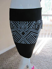ETCETERA SASSY STRETCH THREE PANEL STRAIGHT PENCIL SKIRT Size 4 N/W tag $195