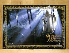 IL SIGNORE DEGLI ANELLI LE DUE TORRI fotobusta poster The Lord of the Rings X21