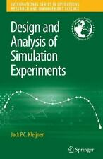 Design and Analysis of Simulation Experiments (International Series in-ExLibrary