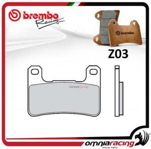 Brembo Racing Z03 front brake pad sintered compound for SUZUKI GSXR600 2004>2010