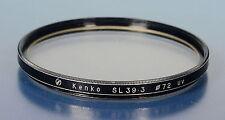 Kenko ø72mm filtro UV FILTRO FILTRE SL 39 3 - (92737)