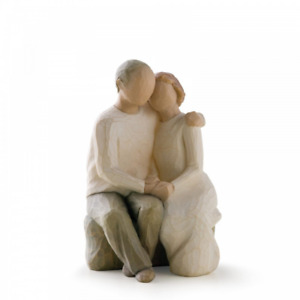 Willow Tree Anniversary 26184 Husband Wife Couple Figurine Gift Brand New Boxed