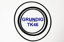 SET BELTS GRUNDIG TK 46 REEL TO REEL EXTRA STRONG NEW FACTORY FRESH TK46