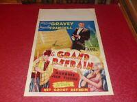 Cinema Plakat Original Belgisches - Le Grand Chorus Grundsauce Francell Mirande